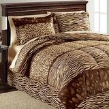 Safari bedding ensemble