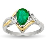Green gemstone ring 11 7 14