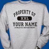 Property of sweatshirt 11 8 14