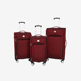 Dockers red spinner luggage