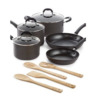martha stewart 12pc cookware 60 shipped. Black Bedroom Furniture Sets. Home Design Ideas
