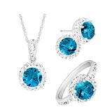 Birthstone jewelry set 11 27 15