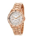 Bulova rose gold bracelet watch 11 27 15