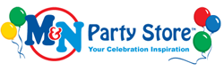 Mn party store logo