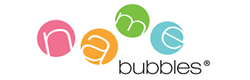 Name bubbles logo