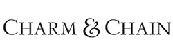 Charm and chain logo