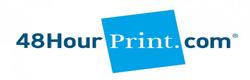 48 hour print logo