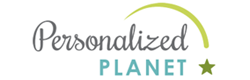 Personalized planet logo
