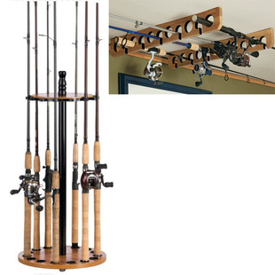 Cabela 39 s fishing rod racks 10 20 shipped for Walmart fishing pole holder