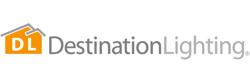 Destination lighting logo