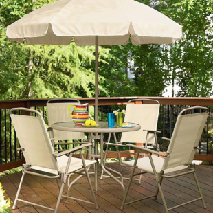 Essential Garden Folding Patio Set $77 *