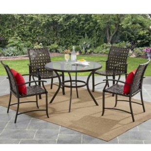 Mainstays 5pc Patio Set $164 Shipped