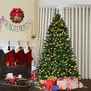 7' Pre-Lit Christmas Tree $69 Shipped