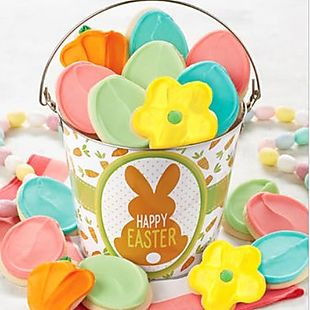 Edible gifts deals the best online deals amp sales on edible gifts cheryls easter cookie pail 28 shipped negle Choice Image