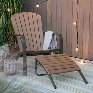 adirondack chair and ottoman 60 shipped